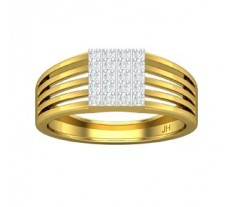 Natural Diamond Ring for Men 0.30 CT / 5.00 gm Gold