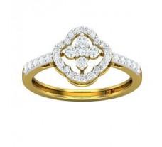 Natural Diamond Ring 0.46 CT / 2.59 gm Gold