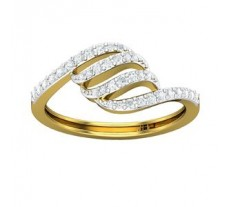 Natural Diamond Ring 0.30 CT / 2.50 gm Gold