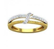 Natural Diamond Ring 0.29 CT / 2.90 gm Gold