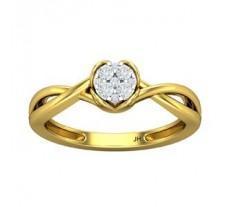 Natural Diamond Ring 0.15 CT / 2.65 gm Gold