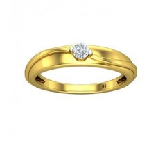 Natural Diamond Band for HER 0.11 CT / 2.80 gm Gold