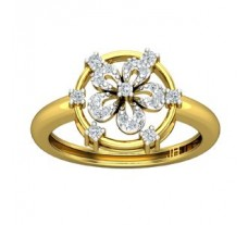 Natural Diamond Ring 0.21 CT / 2.80 gm Gold