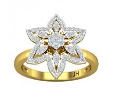 Natural Diamond Ring 0.46 CT / 4.20 gm Gold