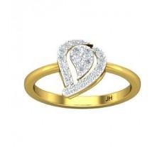 Natural Diamond Ring 0.26 CT / 2.60 gm Gold