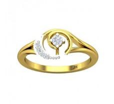 Natural Diamond Ring 0.10 CT / 2.74 gm Gold