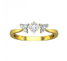 Natural Diamond Ring 0.31 CT / 2.40 gm Gold