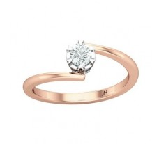 Natural Diamond Ring 0.25 CT / 2.50 gm Gold