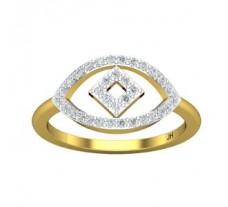 Natural Diamond Ring 0.34 CT / 2.68 gm Gold
