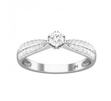 Natural Diamond Ring 0.43 CT / 2.10 gm Gold