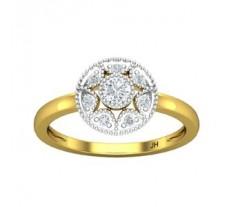 Natural Diamond Ring 0.29 CT / 2.52 gm Gold