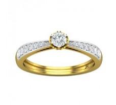 Natural Diamond Ring 0.38 CT / 2.60 gm Gold
