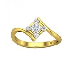 Natural Diamond Ring 0.29 CT / 2.49 gm Gold