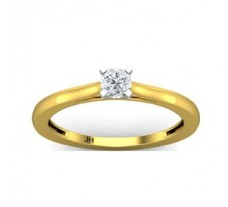 Natural Diamond Ring 0.25 CT / 1.95 gm Gold