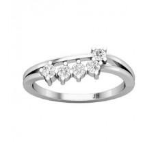 Natural Diamond Ring 0.25 CT / 2.70 gm Gold