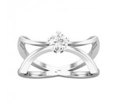 PreSet Solitaire Natural Diamond Ring 0.29 CT / 4.00 gm Gold