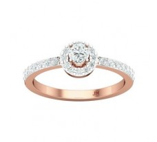 Natural Diamond Ring 0.49 CT / 2.49 gm Gold