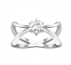 PreSet Natural Solitaire Diamond Ring 0.40 CT / 4.00 gm Gold