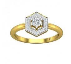 Natural Diamond Ring 0.33 CT / 3.00 gm Gold