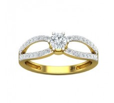 PreSet Natural Solitaire Diamond Ring 0.67 CT / 2.70 gm Gold