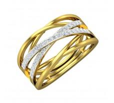 Natural Diamond Ring 0.36 CT / 4.65 gm Gold