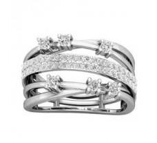 Natural Diamond Ring 0.66 CT / 6.20 gm Gold