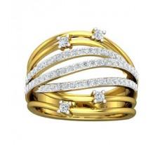 Natural Diamond Ring 0.67 CT / 6.10 gm Gold