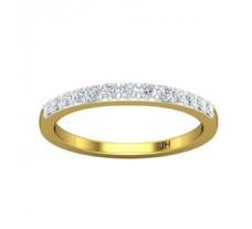 Natural Diamond Band 0.33 CT / 2.10 gm Gold