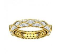 Natural Diamond Band 0.85 CT / 3.40 gm Gold