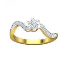 PreSet Natural Solitaire Diamond Ring 0.51 CT / 2.50 gm Gold