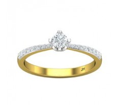 Natural Diamond Ring 0.33 CT / 2.00 gm Gold