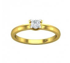 Natural Diamond Ring 0.25 CT / 2.60 gm Gold
