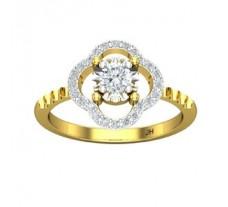 Natural Diamond Ring 0.44 CT / 2.90 gm Gold