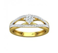 Natural Diamond Ring 0.56 CT / 3.70 gm Gold