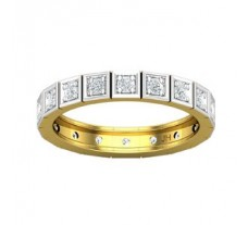 Natural Diamond Band 0.45 CT / 3.20 gm Gold