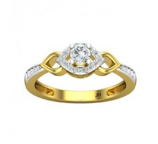 Natural Diamond Ring 0.37 CT / 3.00 gm Gold