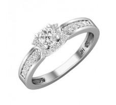 Natural Diamond Ring 0.52 CT / 3.00 gm Gold