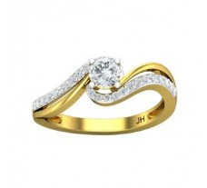 PreSet Natural Solitaire Diamond Ring 0.53 CT / 2.90 gm Gold