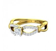 Natural Diamond Ring 0.49 CT / 3.20 gm Gold