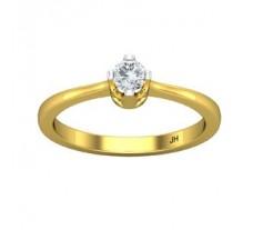 Natural Diamond Ring 0.19 CT / 2.30 gm Gold