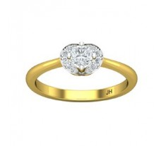 Natural Diamond Ring 0.34 CT / 2.40 gm Gold