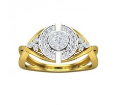 Natural Diamond Ring 0.41 CT / 3.50 gm Gold