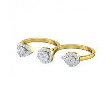 Natural Diamond Ring 0.79 CT / 6.20 gm Gold