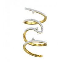Natural Diamond Ring 0.78 CT / 5.60 gm Gold