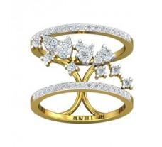Natural Diamond Ring 0.79 CT / 5.00 gm Gold