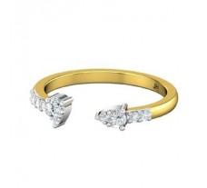 Natural Diamond Ring 0.24 CT / 2.00 gm Gold