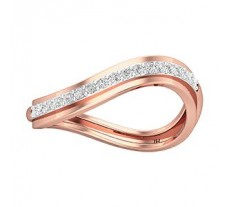 Natural Diamond Band for HER 0.20 CT / 2.50 gm Gold