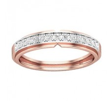 Natural Diamond Band for HER 0.26 CT / 2.25 gm Gold