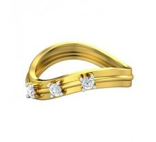 Natural Diamond Band for Men 0.27 CT / 3.60 gm Gold
