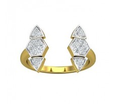 Natural Diamond Ring 0.30 CT / 3.40 gm Gold